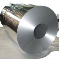 China Double Zero Aluminum Foil Roll Curtain Wall Plate For Decoration , Covering on sale