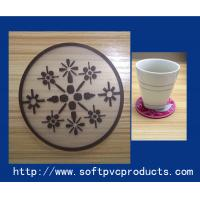 Quality Soft Non-slip Personalised Printed Custom Drink Coasters for Promotional Products for sale