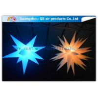 Best Indoor Colorful Star Inflatable Lighting Decoration Advertising For Event wholesale