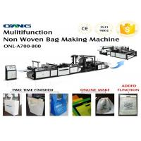 China Automatic Non woven Bag Making Machinery for Flat Bag /T Shirt Bag on sale