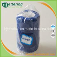 Quality Blue colour Medical non woven cohesive bandage self adherent bandage for sale