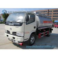 5m3 4x2 Dong Feng Oil Tank Trailer Chemical Tanker Truck 72W 80km/h