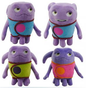 Quality Oh New 2015 Dreamworks Movie Home Boov Asst Cartoon Stuffed Plush Toys for sale