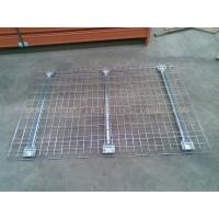 China Customized Industrial Pallet Racks Wire Mesh Decking / Wire Decks For Metal Shelving on sale