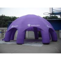 Best Purple Advertisement Inflatable Party Tent Oxford Cloth Material wholesale