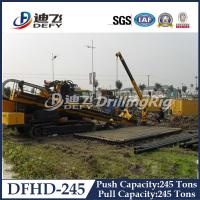 China Horizontal Directional Drilling Rig DFHD-245 with 2480KN Pull Capacity on sale
