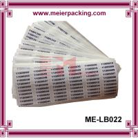 Best Numbers sticker label/digital self adhesive paper label stickers/coated paper adhesive sticker ME-LB022 wholesale