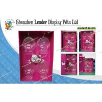 Point Of Sale Corrugated Sidekick Display Hook Stands For Promoting Sales