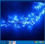 Quality Hot sale 220V blue100led Christmas flashing string lights 10m for sale
