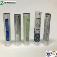 China Laminated Cosmetic Tube Small Airless Empty Toothpaste Containers Round / Oval on sale