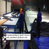 Quality Rubber & Plastics industrial insulation pipe or board, nitrile rubber pipe insulation production line for sale