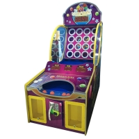 Quality Luxury Kids Scoring Ticket Coin Operated Pitching Machine for sale