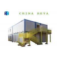 China 2 Bedroom Sandwich Panel Container House , 20ft Steel Frame Prefab House on sale