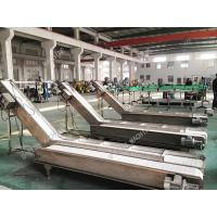 Quality High Stable Industrial Conveyor Belt For Bags Cartons Adjustable Height for sale