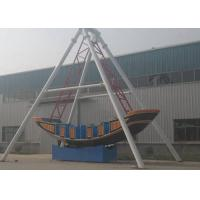Quality Corrosion Resistence Pirate Ship Amusement Ride Gorgeous Color For Life Square for sale