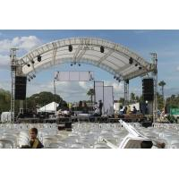 Quality Outdoor Event Aluminum Square Truss / Stage Roof Truss With Canopy for sale
