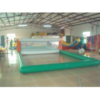 0.9mm PVC Inflatable Beach Volleyball Court For Inflatable Water Parks