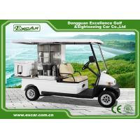 Quality EXCAR 2 Seater Electric Golf Buggy Car Food Utility Cart 1 Year Warranty for sale