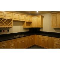Best Antique Maple Wall Mounted Thermofoil Kitchen Cabinets With Marble Countertops wholesale