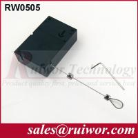 Buy Retail Stores Display Cell Phone Anti Theft Cable With Adjustable Loop End at wholesale prices