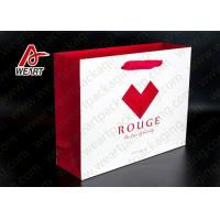 Best Red Heart Printed Paper Gift Bags For Christmas Matt Lamination Suface wholesale