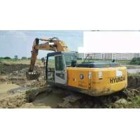 Quality Yellow Excavator Grab Attachment Used Excavator Hyundai 225 -7 for sale