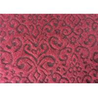 China Classic Tweed Curtain Fabric , Fancy Pattern Wool Tweed Fabric For Upholstery on sale