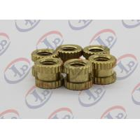 Quality Lathe Machining Small Metal Parts , M2.5-M10 Small Knurled Plastic Inserts for sale