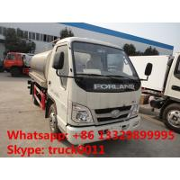 Buy cheap forland 5,000L milk tank truck for sale, hot sale stainless steel liquid food from wholesalers