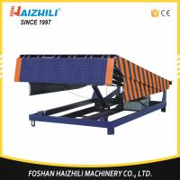 Quality Hot selling 6000kg portable hydraulic electric dock leveler with cheap price for sale