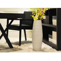 Buy cheap White floor vase ceramic vase from wholesalers