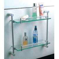 Best Bathroom accessories brass double luggage carrier & shelves wholesale