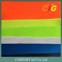 China Width 137cm PVC Artificial Leather Non Woven Backing Material For Shoes on sale