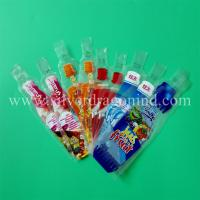 Custom plastic beverage bags, drink bags and water bags, made by Silver Dragon Industrial Limited, lowest price