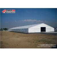 Quality Waterproof Marquee Party Tent , Outdoor Wedding Tents For Rent 3m - 60m Width for sale