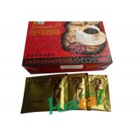 China Multi Vitamins Natural Lose Weight Coffee , Leisure 18 Slimming Coffee Gold on sale