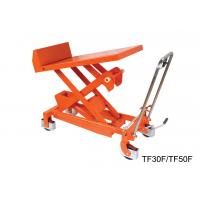 Professional Heavy Duty Tilting Lift Table Stainless Steel Lift Cart High Strength