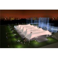 China Sunshade Tension Membrane Structure Of Railway Station Landscape Canopy Roof on sale