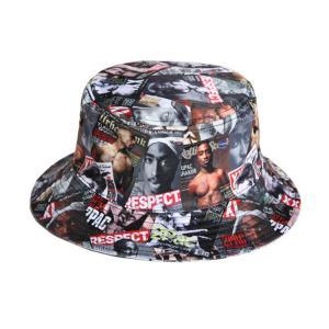 Buy cheap 100% cotton cheap custom bulk printed folding men bucket cap bucket hats size 58-60 from wholesalers