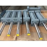 China Double acting tie rod two way hydraulic cylinder on sale