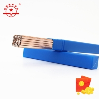 Quality BCuP-2 457mm Round Copper Brazing Rod for sale
