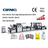 Quality Muti - Functional Automatic Non Woven Rice Bag Making Machine , CE for sale