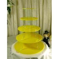 Best Elegant 3 Tier Acrylic Cupcake Display For Wedding Or Party wholesale