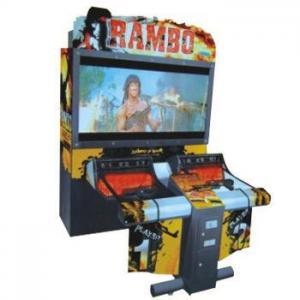 Quality Acrylic 55 LCD Rambo Simulator Arcade Game Machine for sale