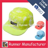 Quality Bright Color Blank snapback cap hat for sale
