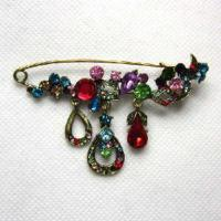 Quality Fashion Alloy Jewelry Brooch (BH-055) for sale