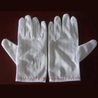 Quality ESD and Cleanroom Fabric Glove for sale