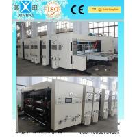 China Paper Industrial Die Cutting Machine With Multi Color Water Ink , Fully Automatically on sale