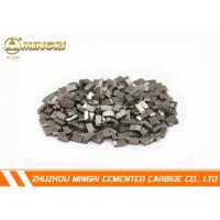 Buy cheap Brazed ISO certificate tungsten carbide cutting tips suitable for cutting ferrous metal from wholesalers