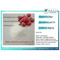 China Plant Extract Cosmetic Grade Powder Alpha Arbutin Cas 84380-01-8 For Skin Whitening on sale